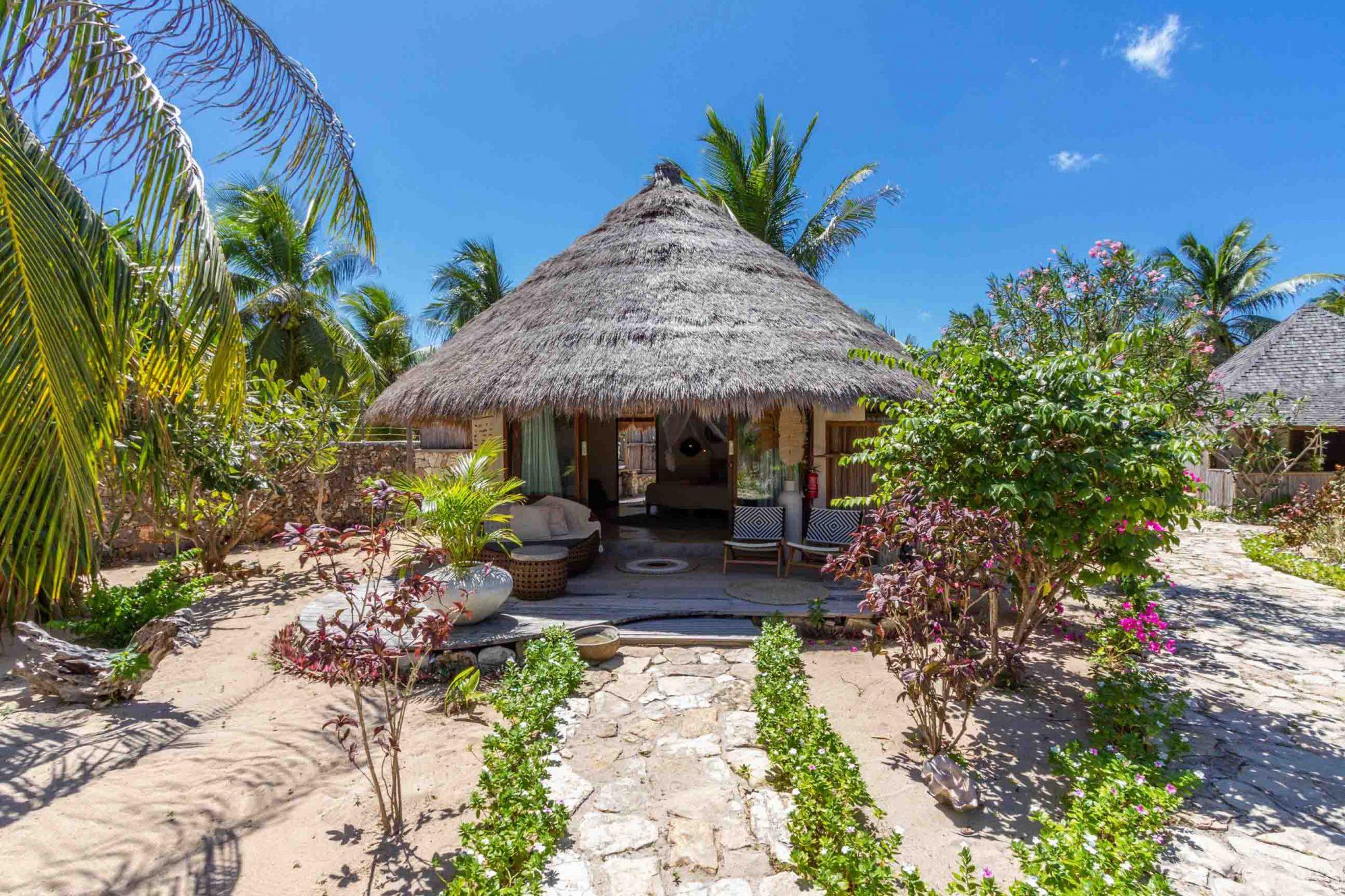 oceanview bungalow outside