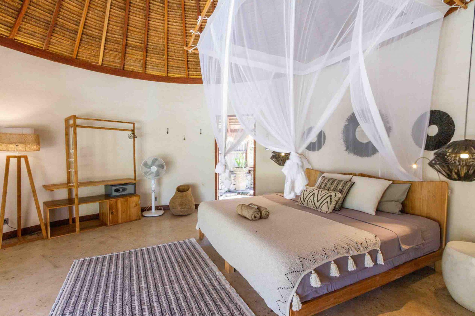 oceanview bungalow luxury space
