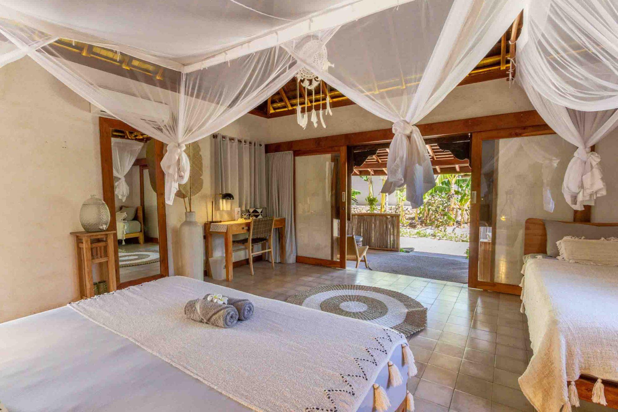 Luxury resort rote