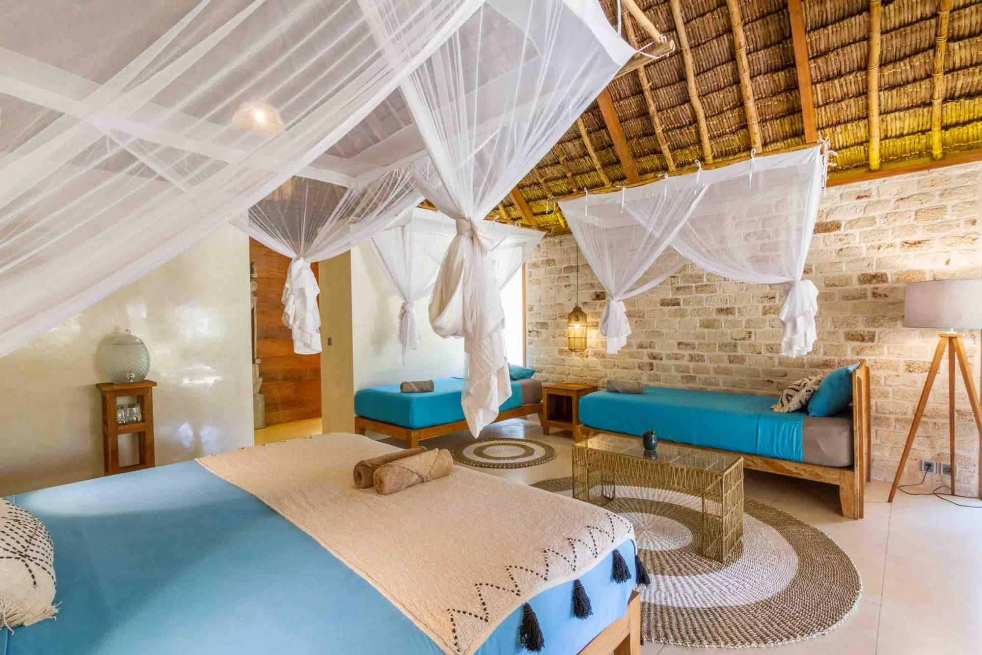 Luxury yoga accommodation