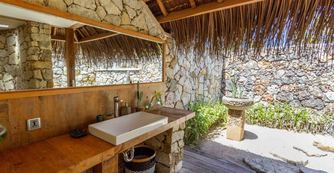 bathroom yoga place