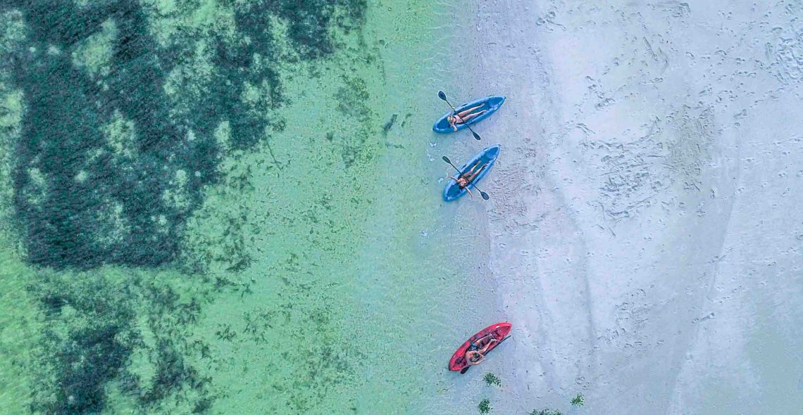 drone kayak rote