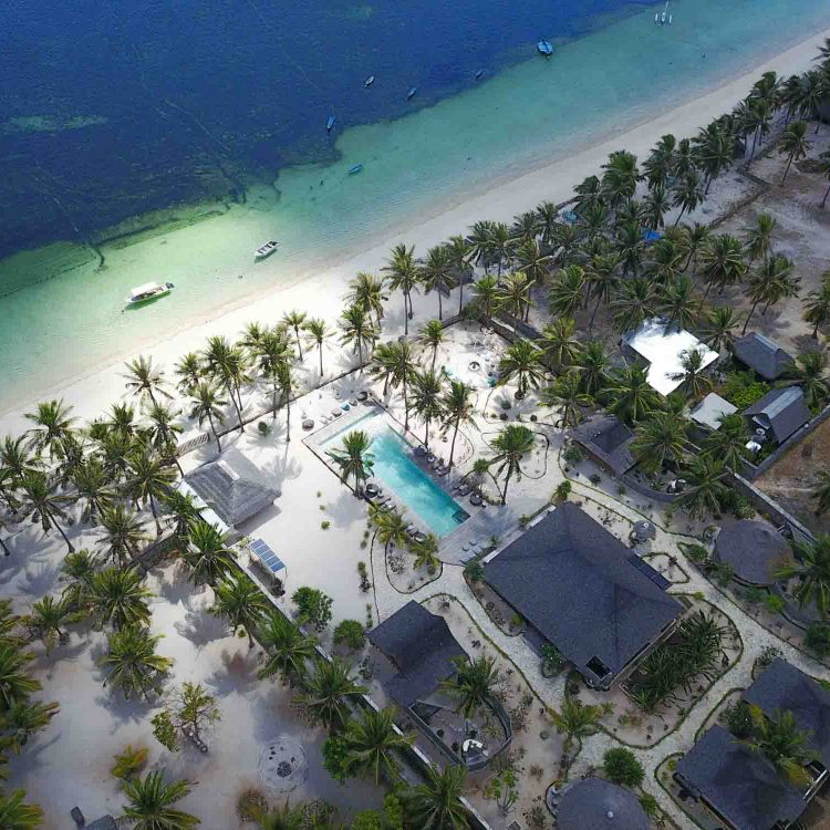 Drone seed resort Rote island