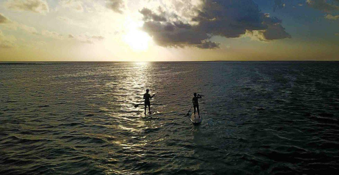 Sunset paddle Seed resort