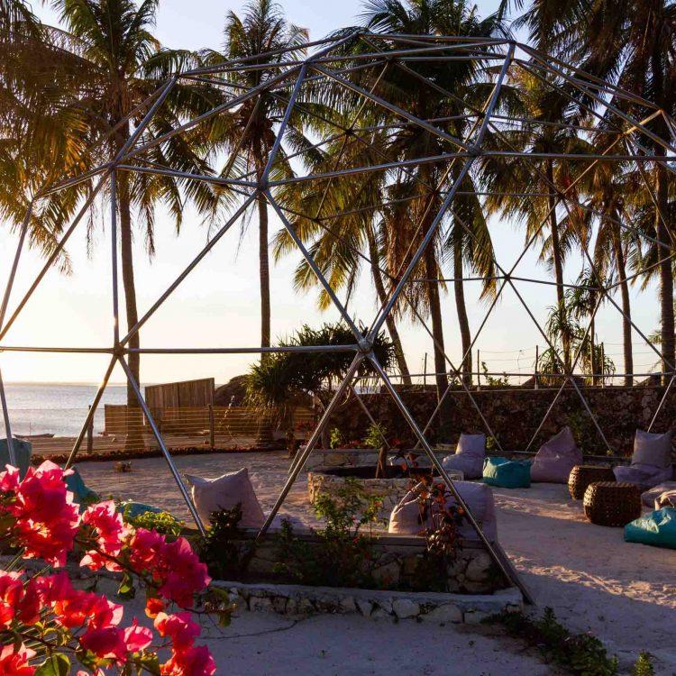 Sunset Seed resort rote island