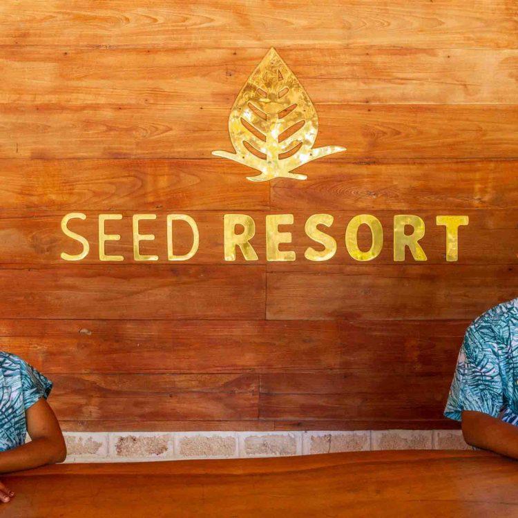 reception Seed resort
